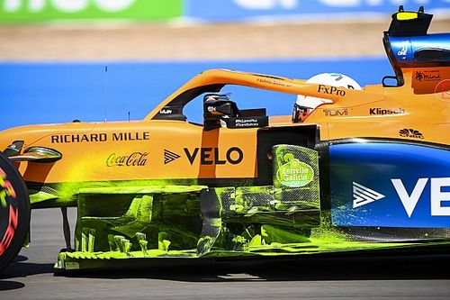 McLaren: due profili in più nel barge board