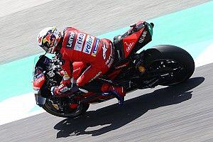 """Dovizioso: """"Márquez va a estar el domingo en pista, así que no cambia nada"""""""