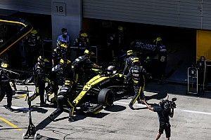 """Ricciardo na uitvalbeurt: """"Was al blij dat we weer konden racen"""""""