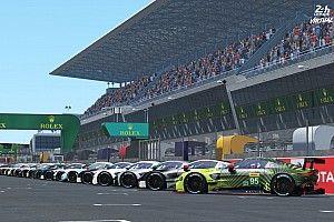 Les plus grandes équipes du monde au départ des 24H du Mans virtuelles
