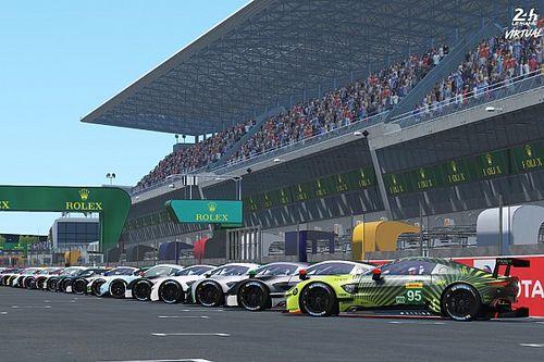 24 Horas de Le Mans virtuales: ¡una gran lista de participantes!