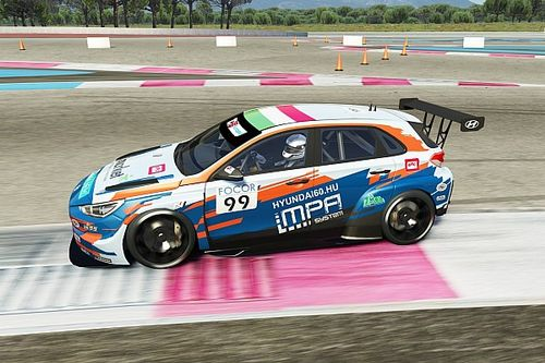 TCR Europe SIM Racing: Nagy è protagonista anche al Paul Ricard