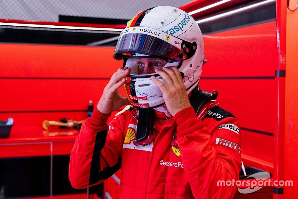 Sebastian Vettel ne voit pas son avenir ailleurs qu'en F1