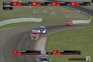 Canapino le gana un podio a Norris
