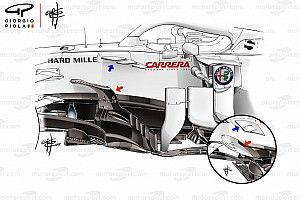 F1 tech review: How Alfa tie-up allowed Sauber to thrive