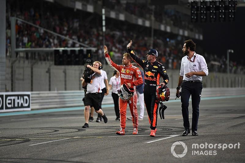 """Hamilton, Vettel y Verstappen protagonizan """"pelea"""" de bebidas energéticas"""