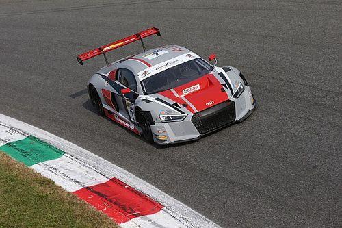 Bar Baruch e Mattia Drudi portano l'Audi al successo in Gara 1 a Monza