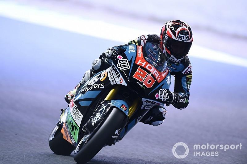 Moto2日本FP3:クアッタハッホ首位。長島9番手と引き続き好調
