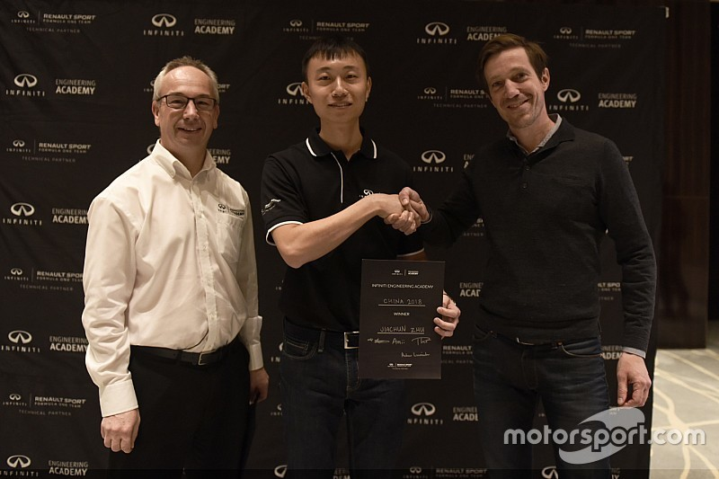 Infiniti Engineering Academy 2018 China winner revealed