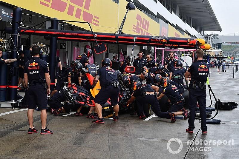 A Red Bull legyőzte a Ferrarit és a Mercedest is a bokszkiállások bajnokságában