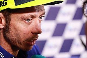 """Rossi : """"Dur de garder la motivation"""" face aux problèmes de Yamaha"""