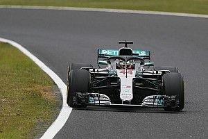 Hamilton domineert vrijdagtrainingen in Japan, Verstappen P4