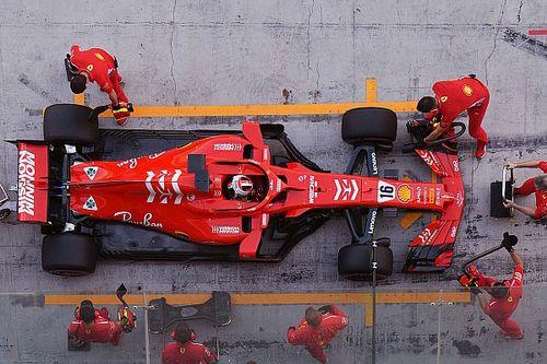 """Leclerc """"érzelmesként"""" értékelte első ferraris tesztjét"""