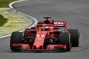 """Vettel: """"Ada yang memantul di antara kedua kaki saya"""""""