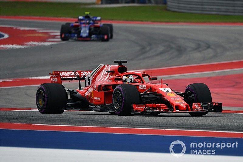 Tenía velocidad para ganar en Austin, dice Vettel
