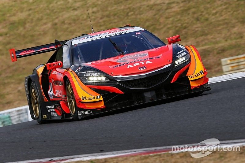 Autopolis Super GT: Honda 1-2-3 in qualifying, Button third