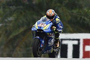 MotoGP FT2 in Sepang: Alex Rins sorgt für eine Suzuki-Bestzeit