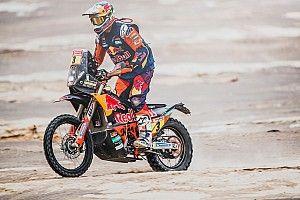 Price, a un paso de su segundo Dakar… aún lesionado