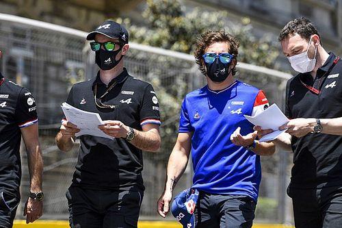 Alonso está disfrutando más de lo que esperaba la F1