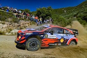 Sardinia WRC: Tanak holds comfortable lead from Sordo
