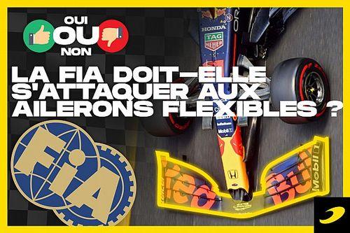 Débat - La FIA a-t-elle raison de s'attaquer aux ailerons flexibles?
