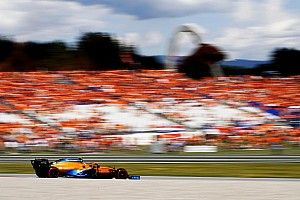 """Norris grapt na P2: """"Mooi voor al die McLaren-fans in het oranje"""""""