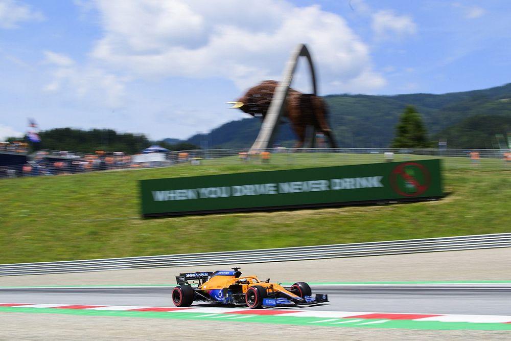 Ricciardo: ''Lando'nun çıkardığı tur zamanını nasıl çıkaracağımı bilmiyorum''
