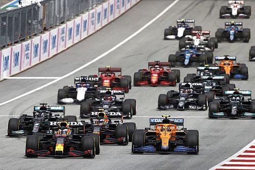 Las estadísticas que dejó el GP de Austria 2021
