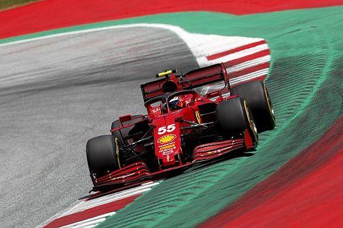 """F1: Sainz explica """"cenário estranho"""" com Hamilton no GP da Estíria"""