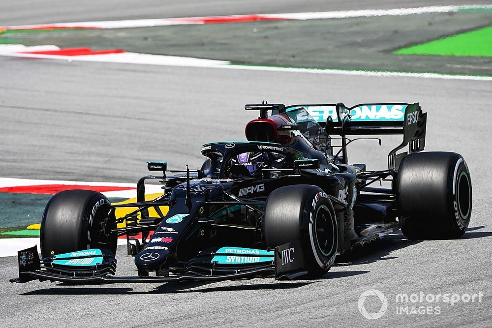Grand Prix practice results: Hamilton fastest in Barcelona