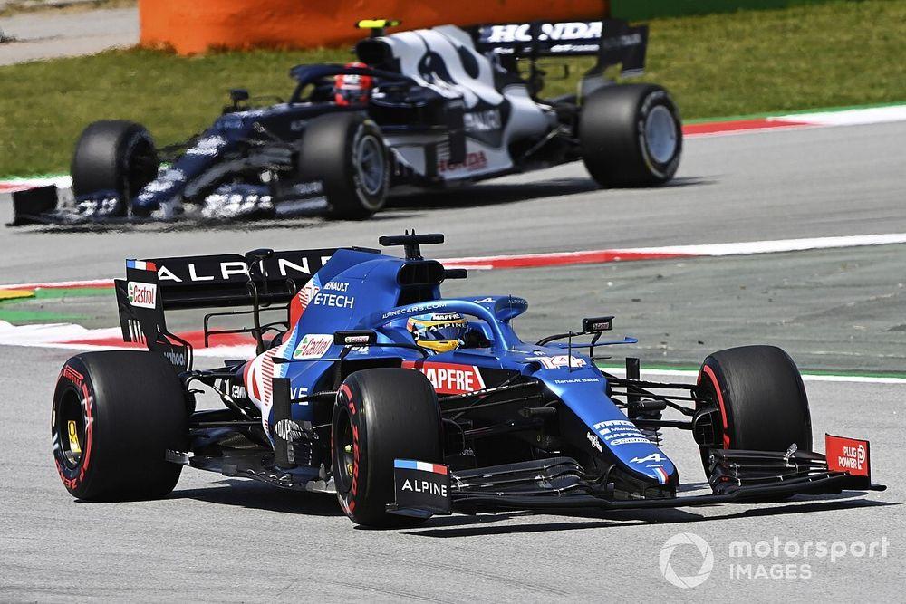 Alonso: Mi 100% actual no alcanza para igualar a un impresionante Ocon