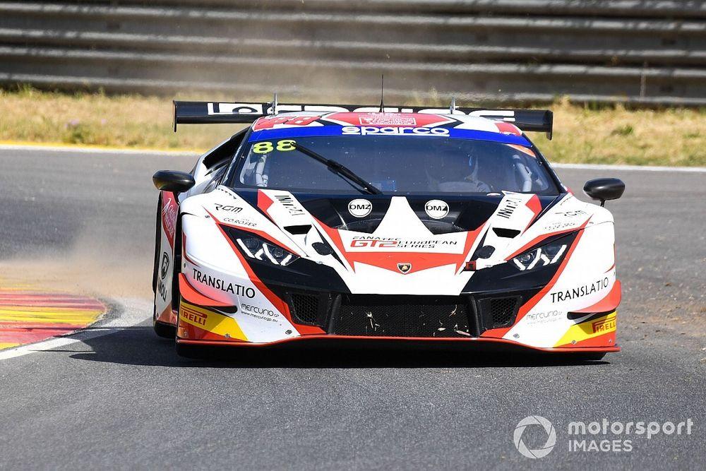 GT Italiano, Pergusa, Libere 1: LP Racing al comando nel finale