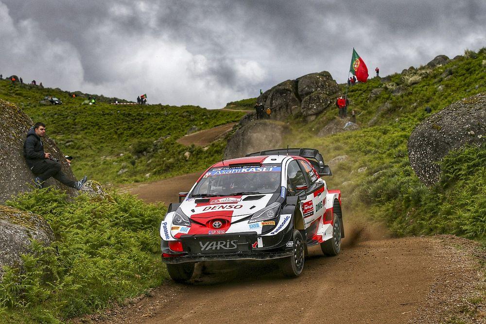 WRC, Rally Portogallo, PS19: tutti salvano le gomme, meno Evans