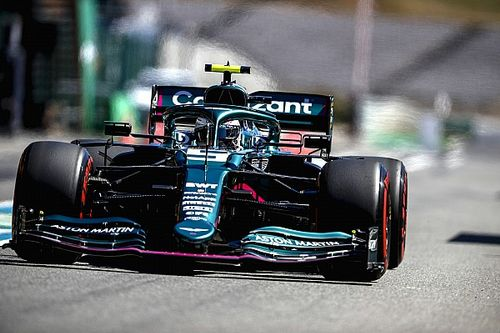 Vettel struggling with car inconsistency, says Aston Martin