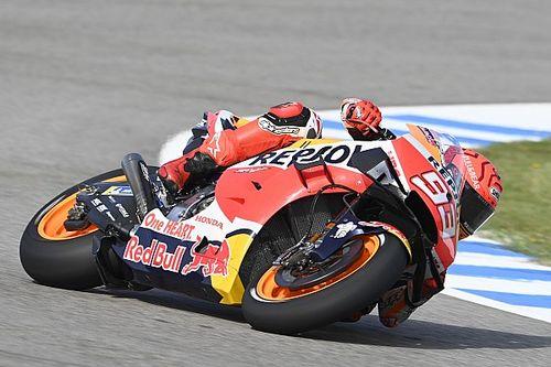 """Márquez: """"La primera vez que pasé por la curva tres fui con cuidado"""""""