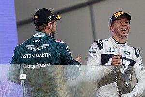 """F1- Gasly quer vitórias: """"não me interessa lutar por oitavo a carreira toda"""""""
