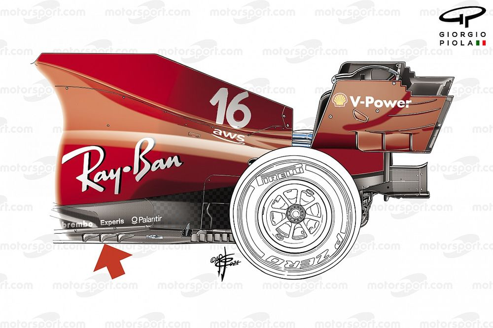 Ferrari: Leclerc riprova il fondo pensato per Silverstone