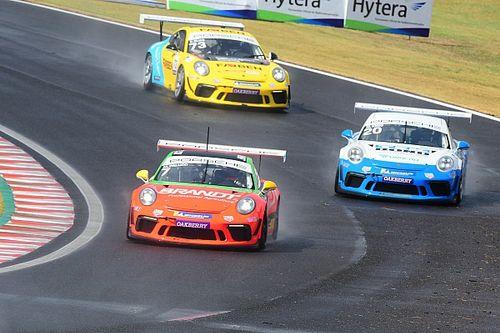 Veja como foram as corridas de domingo da Porsche Cup no Velocitta