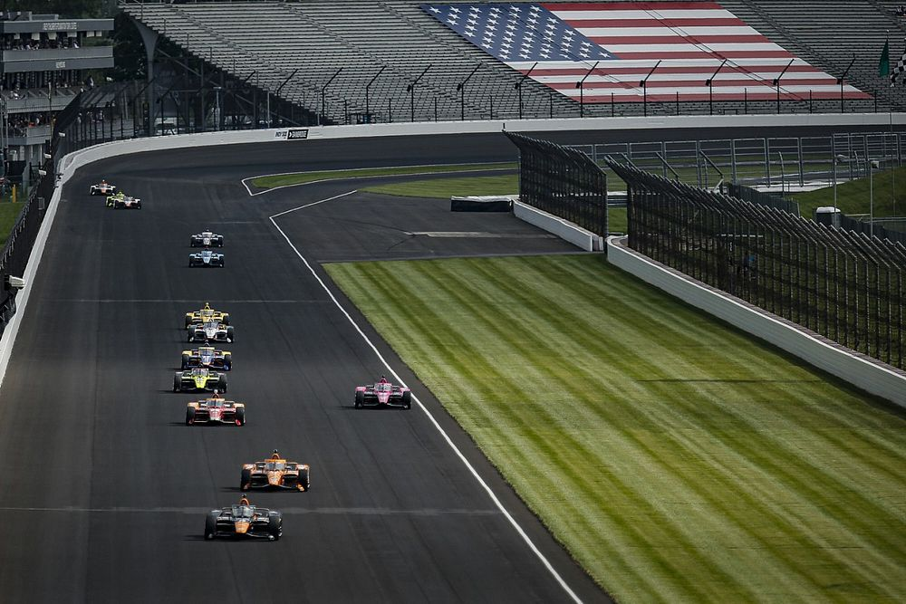 IndyCar to test new engine's revised weight distribution at Indy