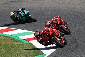 Italian MotoGP: Bagnaia on record pace in FP3, Vinales crashes into Q1