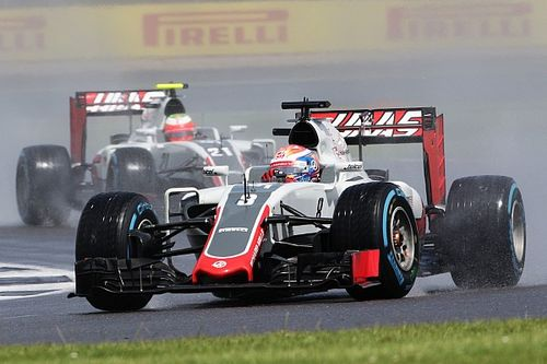 Haas suffered power failure during Silverstone race