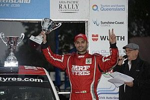 Gill confident of 2016 APRC title, hints Dakar drive with Mahindra