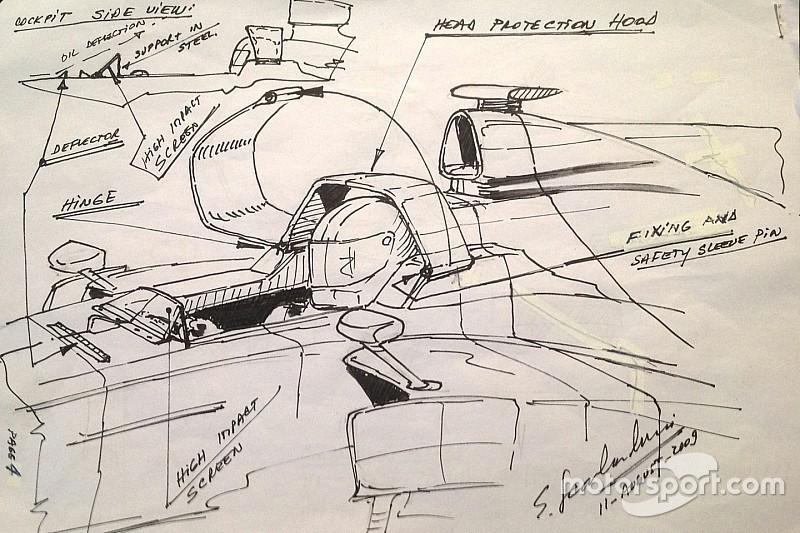 "Exclusive: Formula 1 ""active windscreen"" idea revealed"