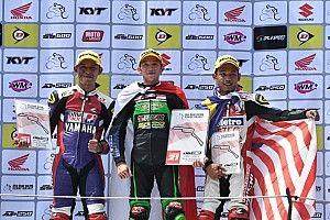 UB 130: Wahyu Aji kalahkan dua pembalap Malaysia