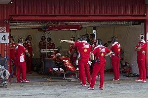 Vettel ha fatto due GP e mezzo a Barcellona con le gomme Pirelli 2017!