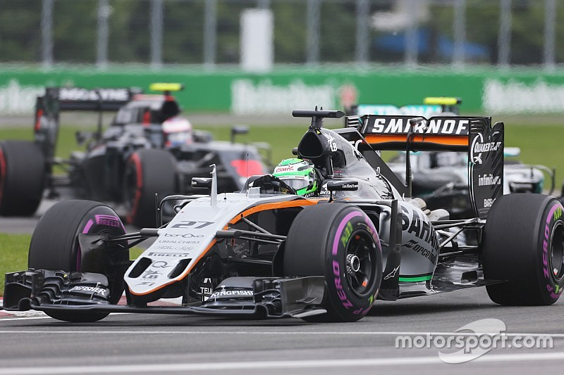 Both Sahara Force India cars finished inside the top ten