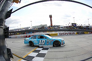 NASCAR Cup Breaking news Danica Patrick survives carnage for her best result of 2016 season