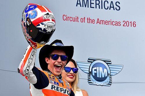 MotoGP Austin: Marquez mendominasi lagi, Rossi terjatuh
