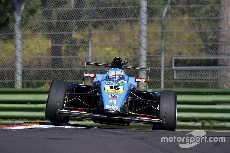 Job Van Uitert svetta tra i 23 piloti presenti ai test ufficiali di Imola