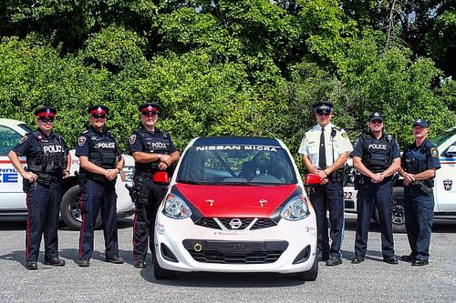 Nissan Micra Cup joins forces with Ontario law enforcement to combat street racing